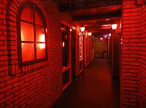 Doubletstraat, Den Haag / The Hague red light district ( De Rosse Buurt)
