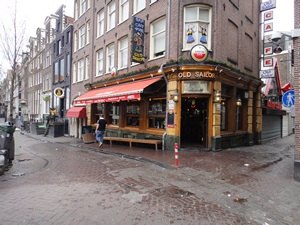Old Sailor Pub in Amsterdam's red light district (De Wallen / Walletjes / De Rosse Buurt)