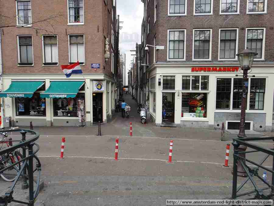 Amsterdam red light district (De Wallen / Walletjes / De Rosse Buurt) Sint Jannstraat