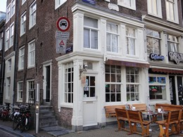 Hill Street at the Market Coffeeshop, Amsterdam, Holland / Netherlands