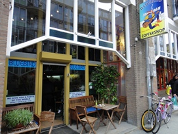 Bluebird Coffeeshop, Amsterdam, Holland / Netherlands