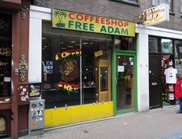 Free Adam Coffeeshop, Amsterdam, Holland / Netherlands