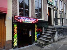 The Bassment Coffeeshop, Amsterdam, Holland / Netherlands