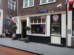 Hunters Coffeeshop, Amsterdam, Holland / Netherlands