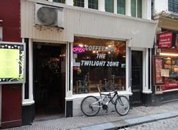 The Twilight Zone Coffeeshop, Amsterdam, Holland / Netherlands