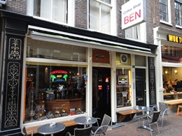 Ben Coffeeshop, Amsterdam, Holland / Netherlands