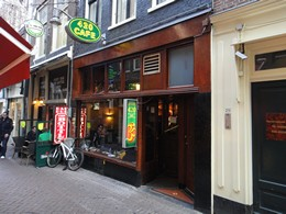 420 Coffeeshop, Amsterdam, Holland / Netherlands