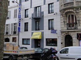 Goldhotel on Boulevard de Clichy in Paris France