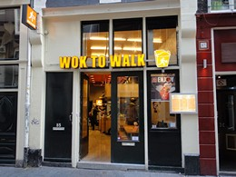 Amsterdam Restaurant Wok to Walk