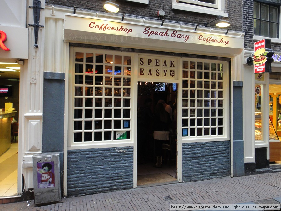 Amsterdam Coffeeshop Speak Easy