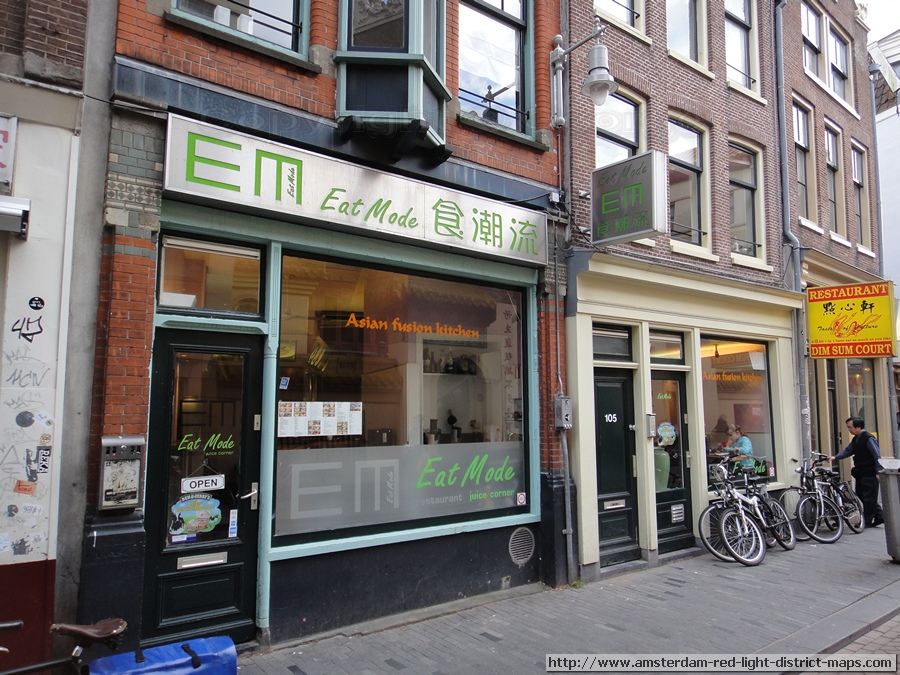 Amsterdam Asian Fusion Restaurant Eat Mode