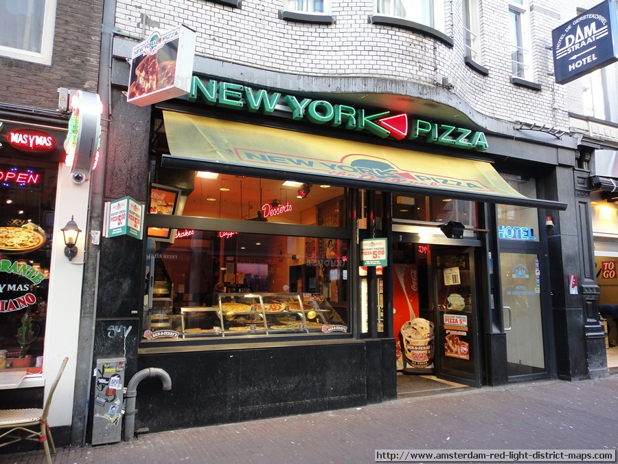 Amsterdam Restaurant New York Pizza