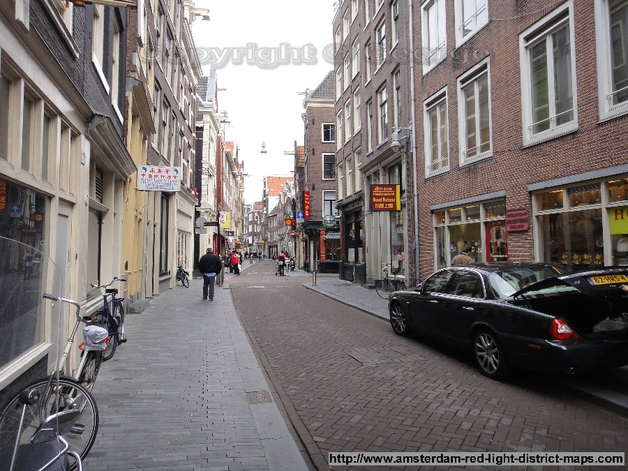 Zeedijk, Amsterdam red light district (De Wallen / Walletjes / De Rosse Buurt). Copyright: George 2011