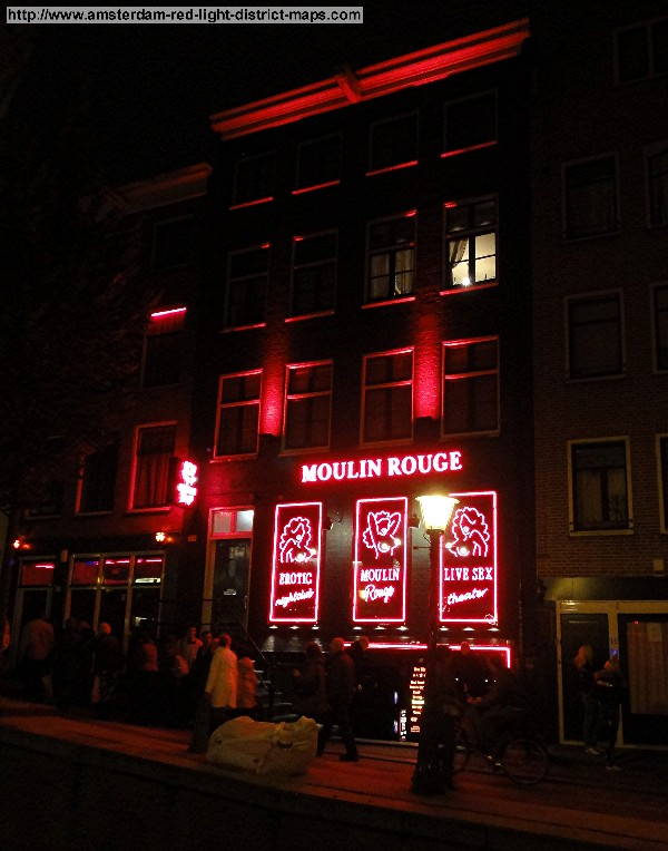 Moulinsteeg, Amsterdam red light district (De Wallen / Walletjes / De Rosse Buurt). Copyright: George 2011