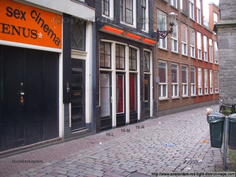 Oudekerksplein 16, Amsterdam red light district (De Wallen / Walletjes / De Rosse Buurt). Copyright: George 2011