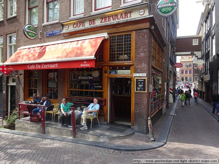 Cafe Zeevart, Amsterdam red light district (De Wallen / Walletjes / De Rosse Buurt). Copyright: George